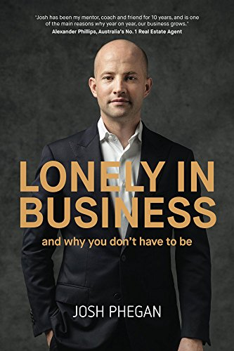 Lonely in Business Book by Josh Phegan.